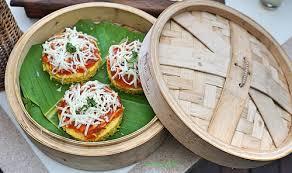pizza dhokla